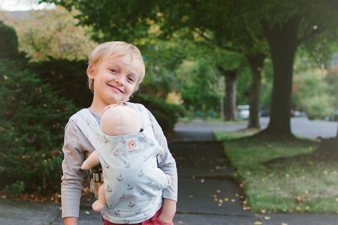 Doll carriers that prove babywearing isn't just for grownups