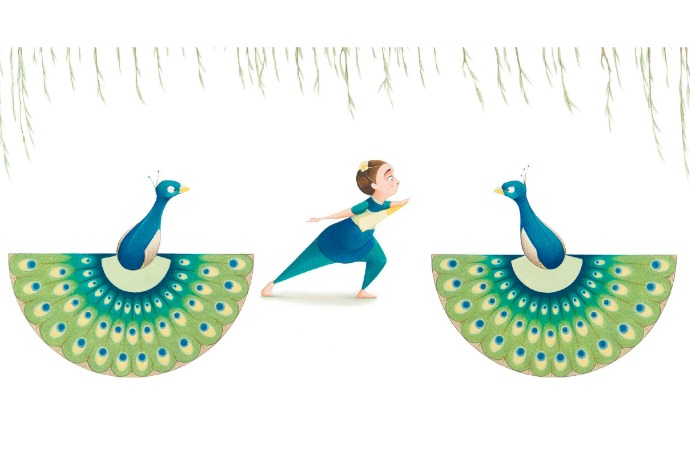 Flora and the Peacocks: A simply glorious picture book