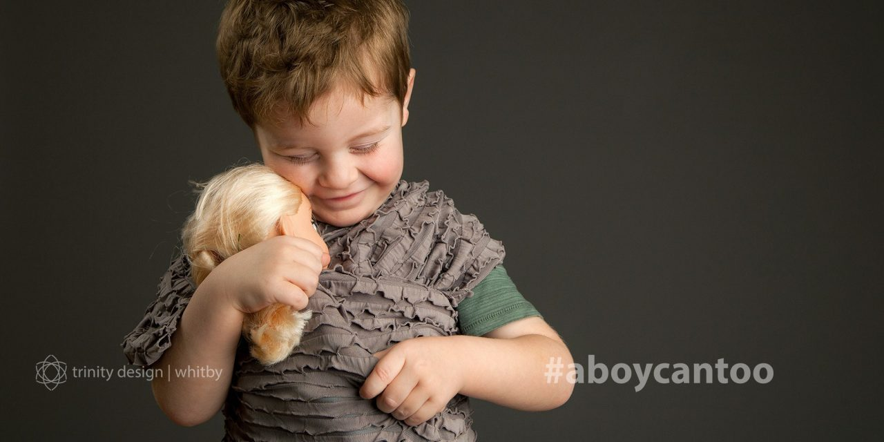 #aboycantoo - photographic series documenting boys who like dolls, dress-up, and dancing too