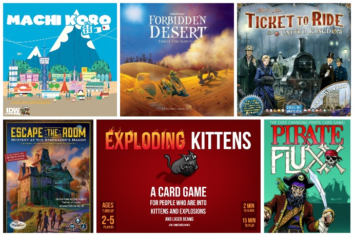 top board games for kids