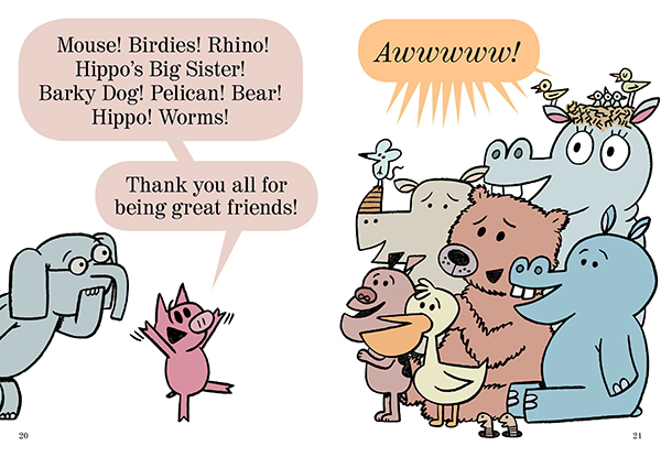 Mo Willems' new Thank You Book: Why you'll be grateful for it too.