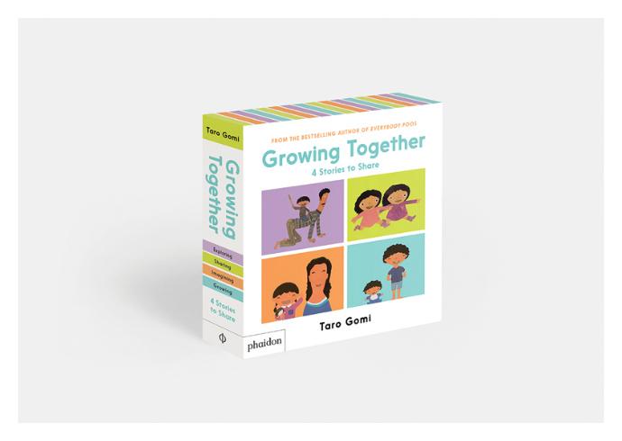 Taro Gomi delights again with this new book series for preschoolers