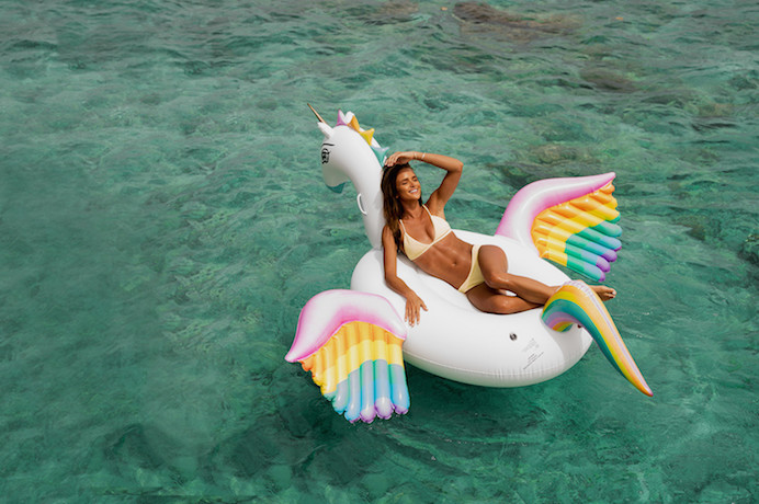 The Coolest Pool Floats From Hot Lips To Flying Rainbow Unicorns