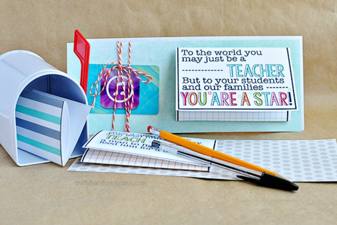 8 of the best teacher appreciation printables to help your kids say thanks