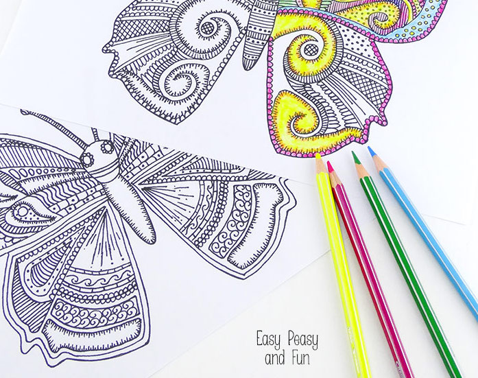 18 Fun, Free Printable Summer Coloring Pages For Kids