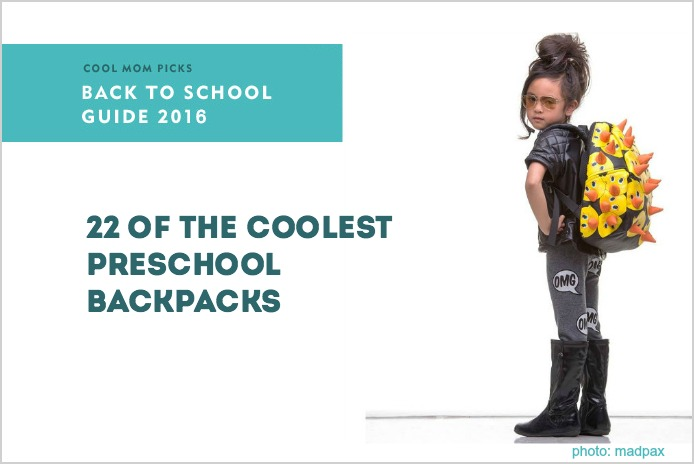 The coolest backpacks for preschoolers and little kids | Cool Mom Picks Back to School Guide 2016