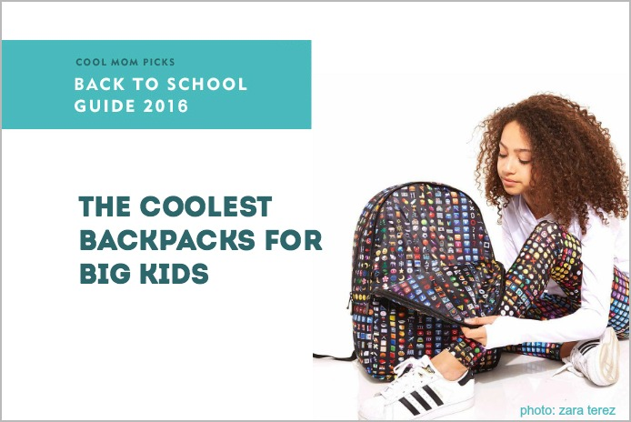 23 cool backpacks for teens and big kids | Cool Mom Picks Back to School Guide 2016