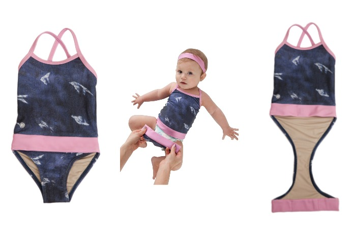 Fastenswim: a smarter one-piece swimsuit for potty training kids