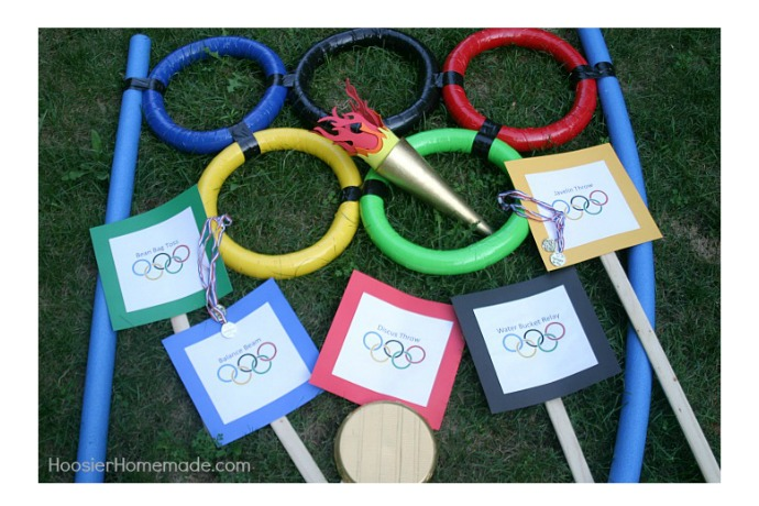 Fun backyard Olympic games that give your own gold medal athletes a chance to shine