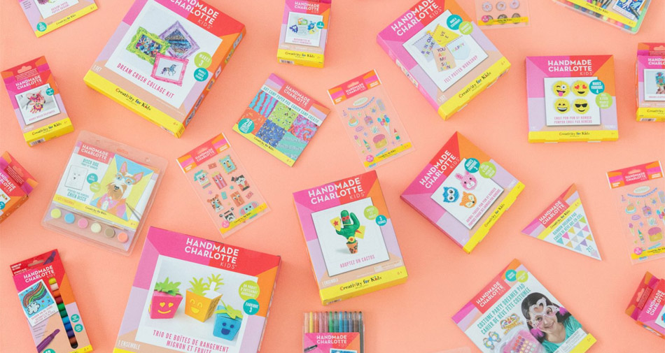Handmade Charlotte Kids: Fun activity kits and art supplies at crazy affordable prices