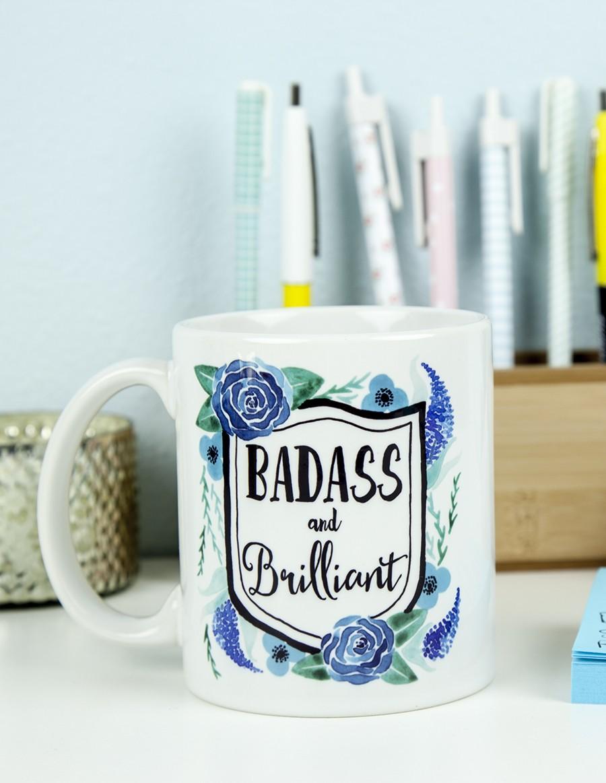 Badass and Brilliant: We need this mug!