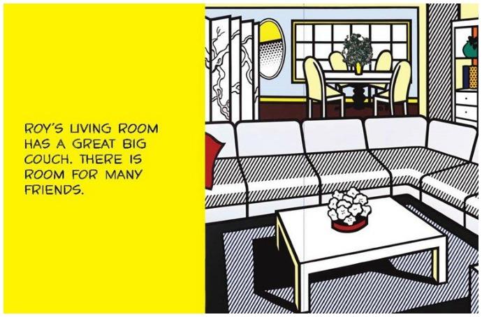 Roy Lichtenstein meets Dick and Jane
