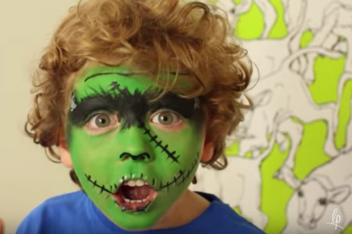 7 quick easy face paint tutorials for kids this halloween