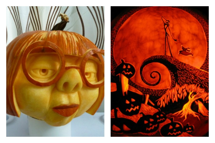 The 13 most outrageously awesome carved pumpkins. because whoa.