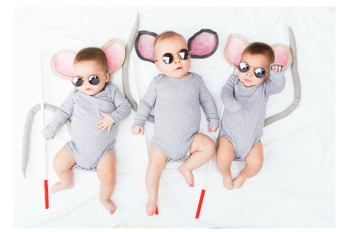 12 awesome kids' Halloween costumes made with pajamas. Comfy, easy and cool.