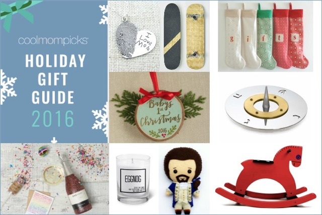 It's here! Our 2016 Cool Mom Picks holiday gift guide! Whoo!