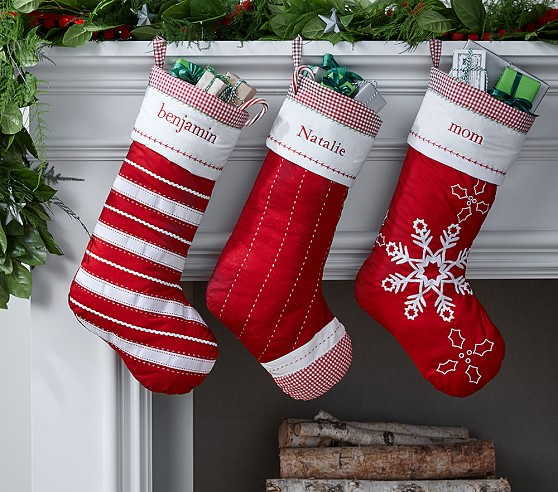 Personalized stockings from PBK on sale