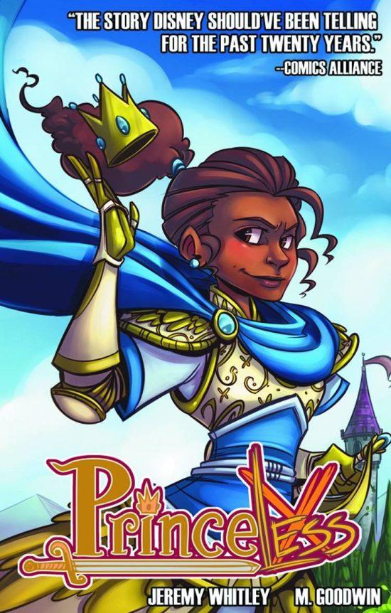 Girl power graphic novels: Princeless