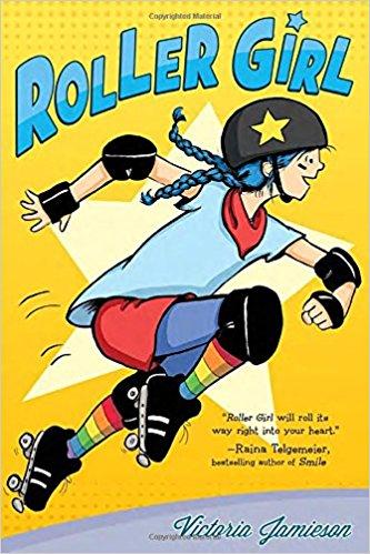 Girl power graphic novels: Roller Girl