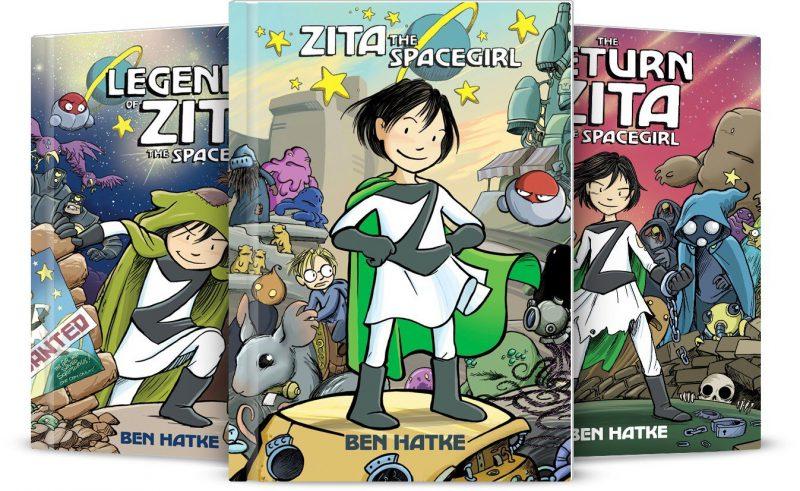 Girl power graphic novels: Zita the Spacegirl