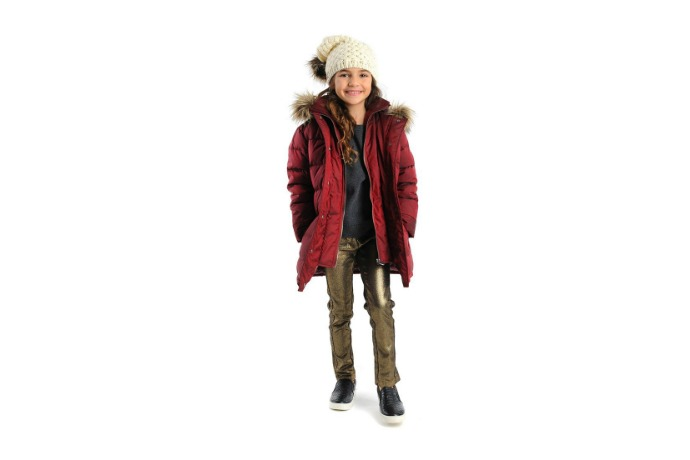 Bring on the bling with these 7 metallic and jewel-toned coats for kids.