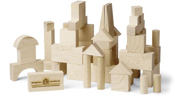 Maple Landmark wooden building blocks for kids