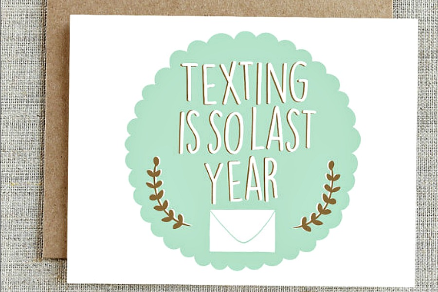 12 cool thank you cards that will make even texting-loving tweens and teens pick up a pen.