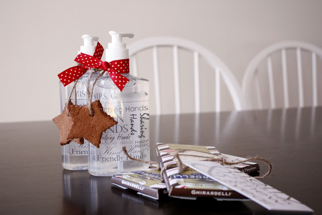 This personalized hand sanitizer we found at Delia Creates is one of our favorite DIY holiday gifts for teachers.