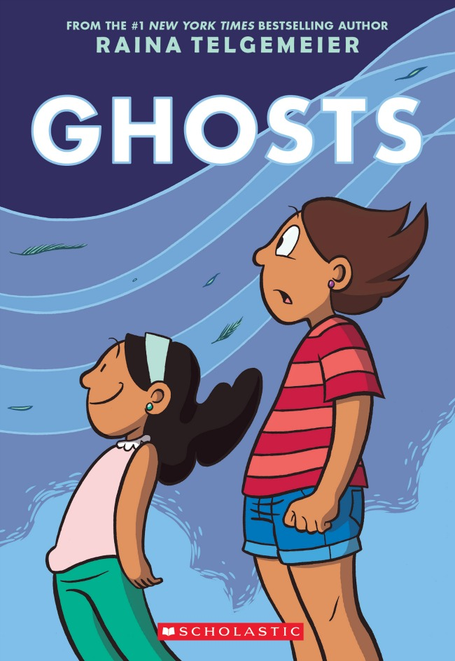 Ghosts by Raina Telgemeier: Editors' Best Children's Books 2016