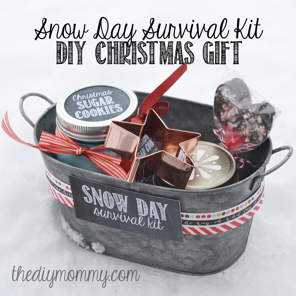Make a snow day extra special for your favorite teacher with this DIY Snow Day Survival Kit from The DIY Mommy.