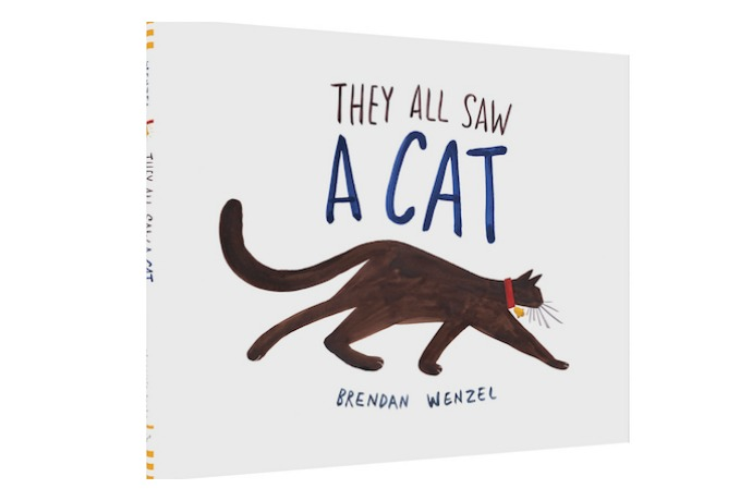 They All Saw a Cat by Brendan Wenzel: Editors' Best Children's Books 2016