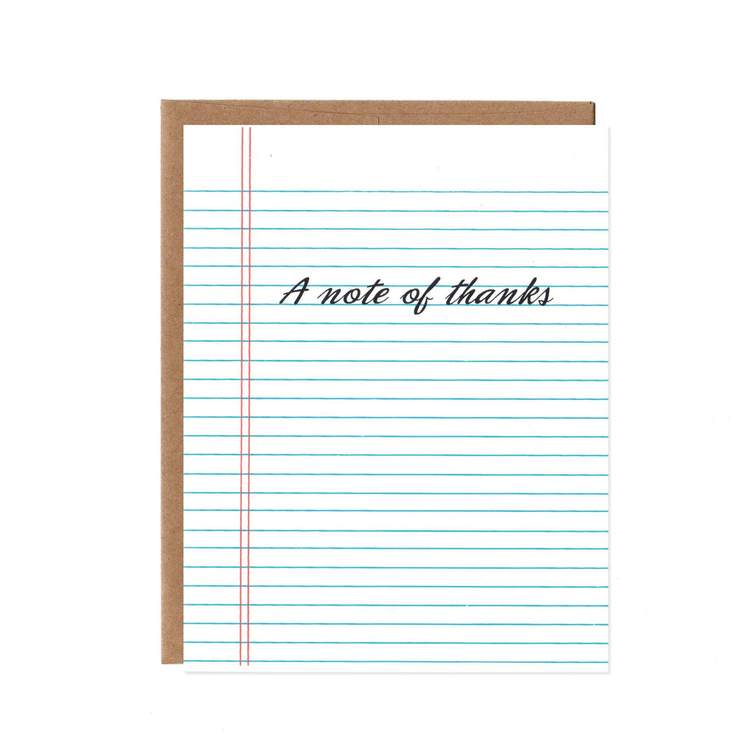 "These ""A Note of Thanks"" thank you cards from Orange Twist are clever and tween approved."