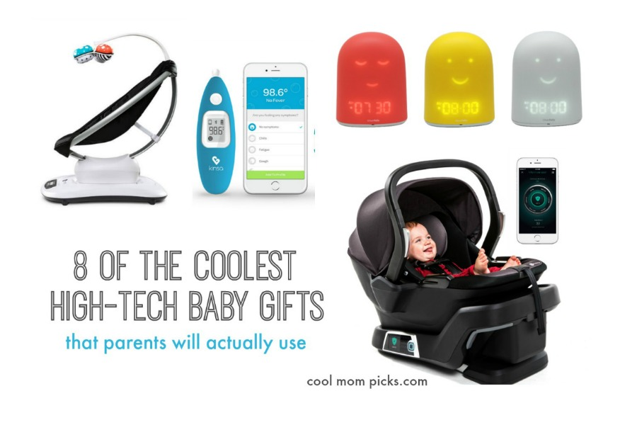 8 Of The Coolest High Tech Baby Gifts That New Pas Will Actually Use