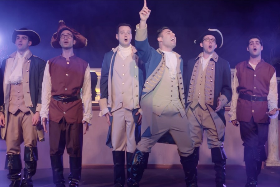 Wishing you a happy Hamilton Hanukkah! From Cool Mom Picks and the Maccabeats