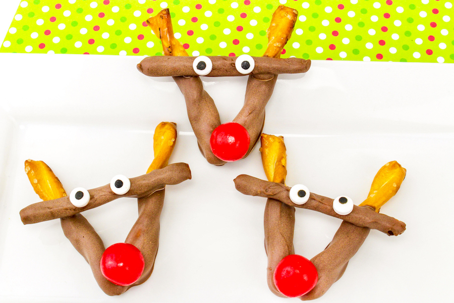 Last-minute holiday gift ideas: Rudolph Pretzels by Brite and Bubbly
