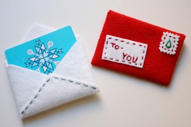 Last-minute holiday gift ideas: DIY Card Holder by Paper & Stitch