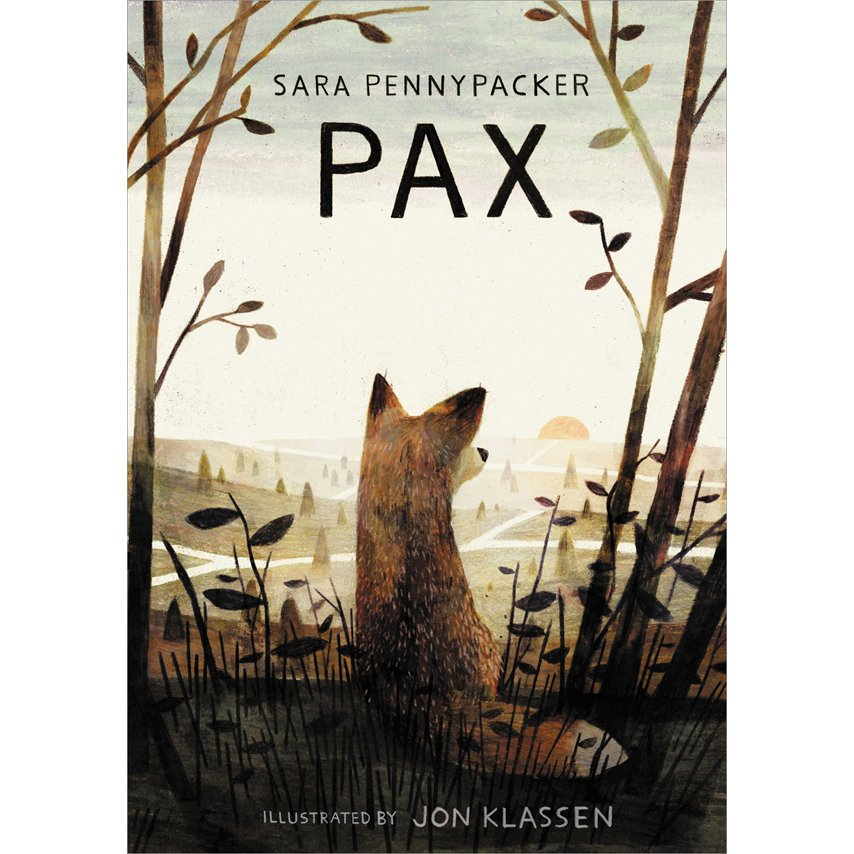 Pax by Sara Pennypacker, Jon Klassen: Editors' Best Children's Books 2016