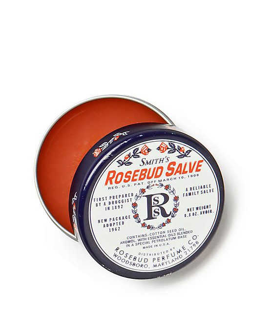 Smith's Rosebud Salve: great drugstore lipbalm and nice stocking stuffer