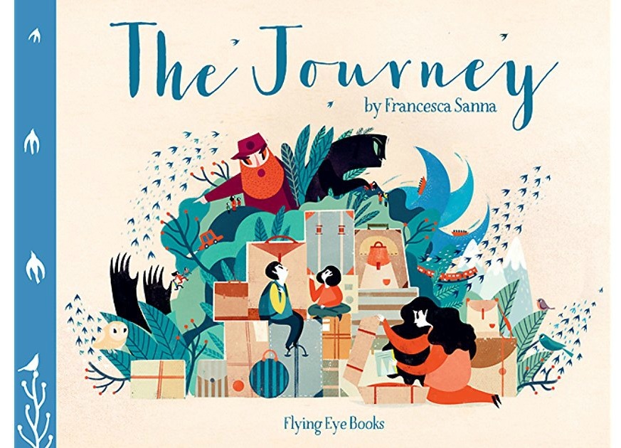 The Journey by Francesca Sanna: Editors' Best Children's Books 2016