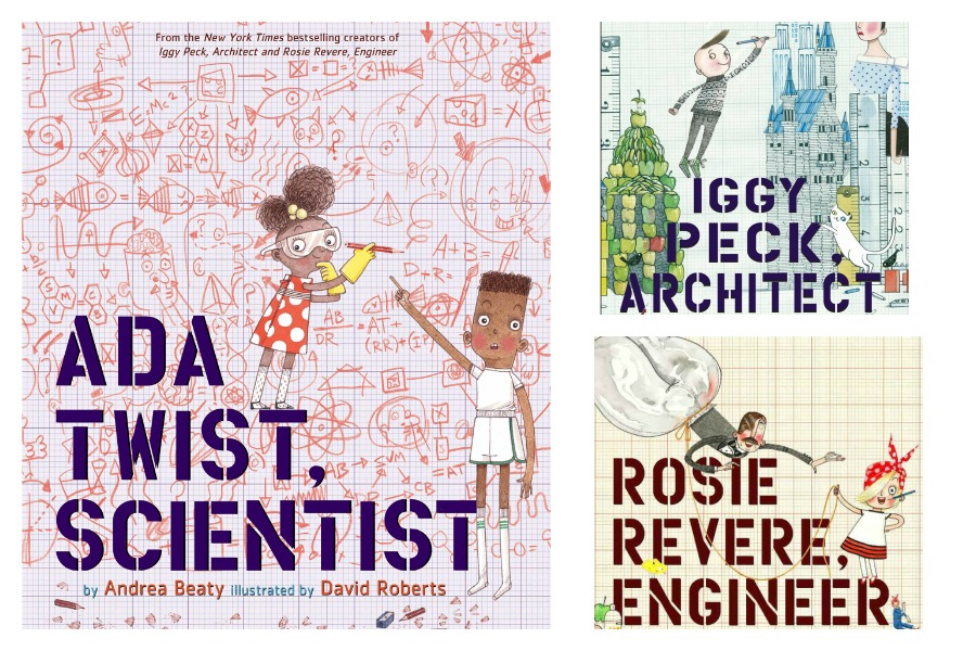 A trio of fantastic STEM-inspired picture books that celebrate curious children.