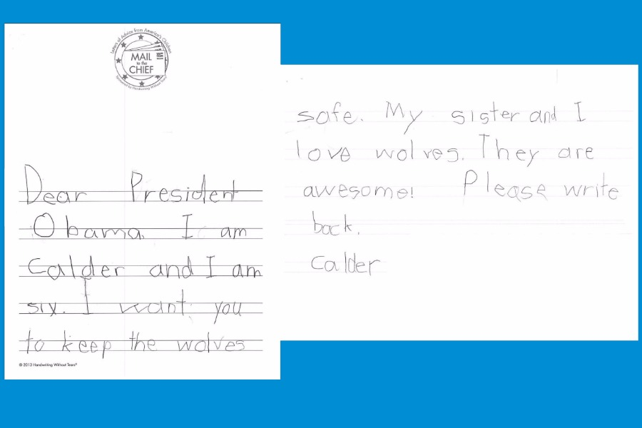 How children can write letters to the president: An American tradition