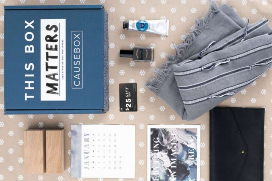 Causebox: The ultimate do-good subscription box for women.