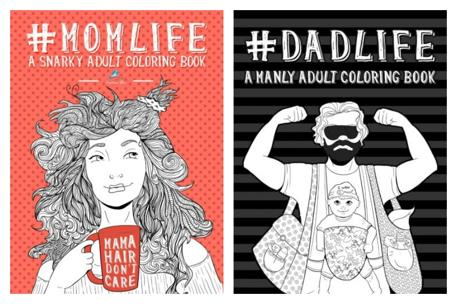 Snarky Coloring Books For Moms And Dads From Papeterie Bleu Are Our New Zen