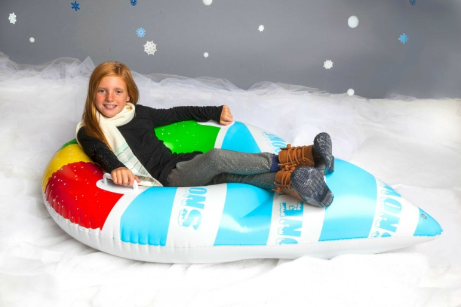 10 cool snow tubes to make your kid the raddest sledder on the slopes