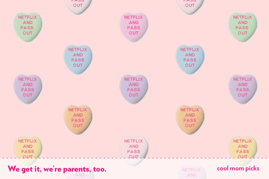 Happy Valentine's Day for the real world, parents!