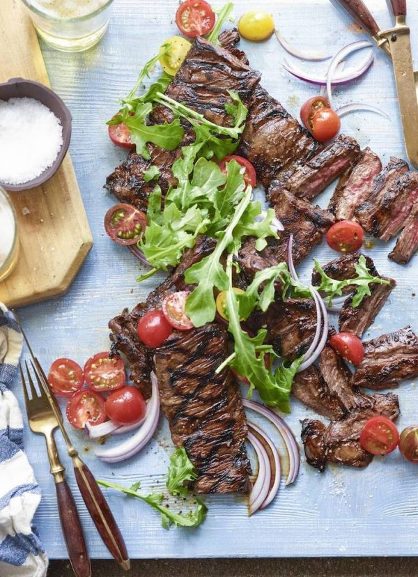 Last-minute Valentines' Day gifts: Dinner Recipes Grilled Skirt Steak by What's Gaby Cooking