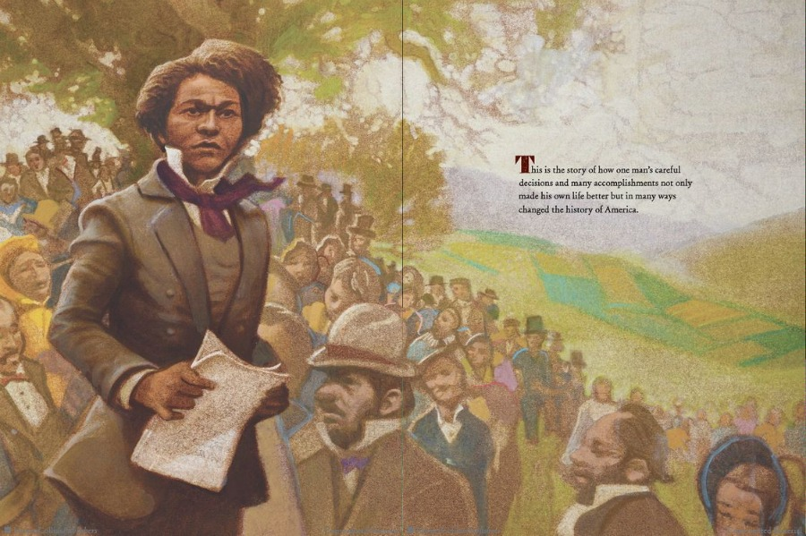 What did Frederick Douglass do? This wonderful book helps kids find out.