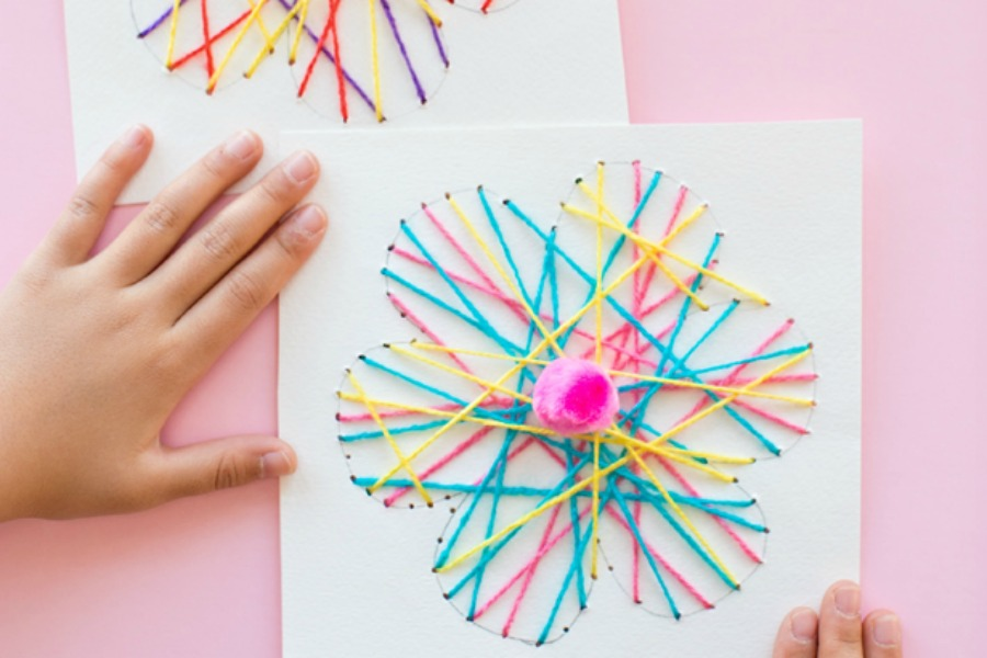 11 Fun And Easy Flower Crafts For Kids To Make This Spring