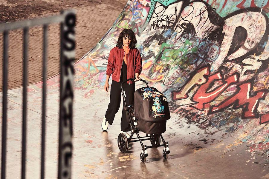 The limited-edition Bugaboo Niark1 stroller: Parenting gear with serious street cred.