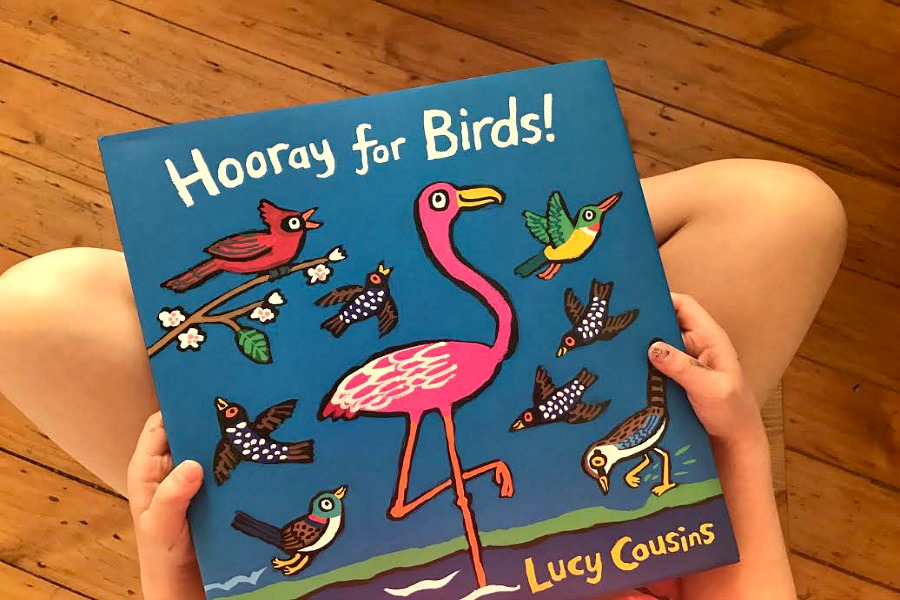 Hooray for Birds! The much-awaited new picture book from Lucy Cousins | Sponsored Message